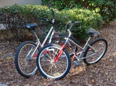 free bikes with each rental