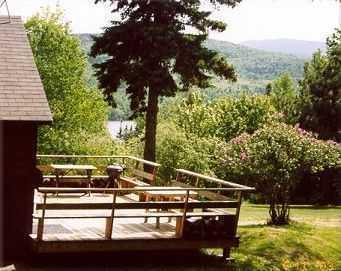 14 « x 24 » pont sur Meadowood cabine