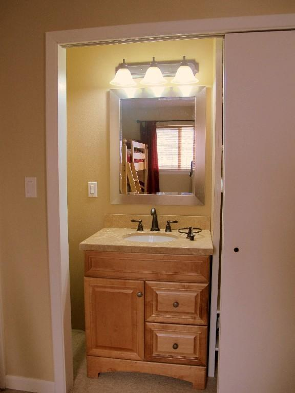 Vanity Sink in Second Bedroom