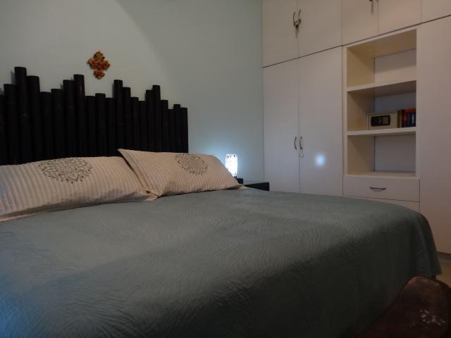 master bedroom - king bed, built-in closet, safe