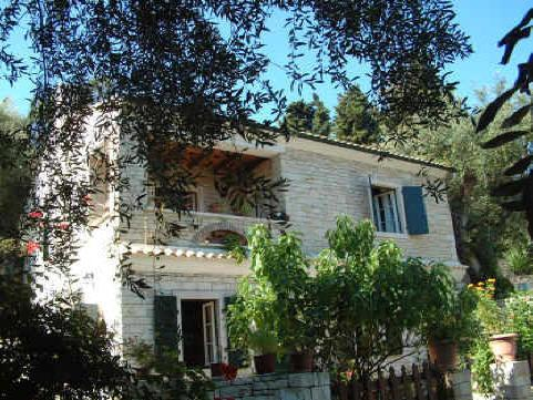 2 bedroom stone apartment on the island of Paxos, holiday rental in Loggos