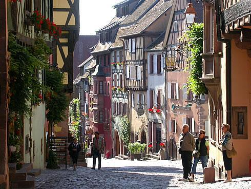 Riquewihr, one of the prettiest villages in France