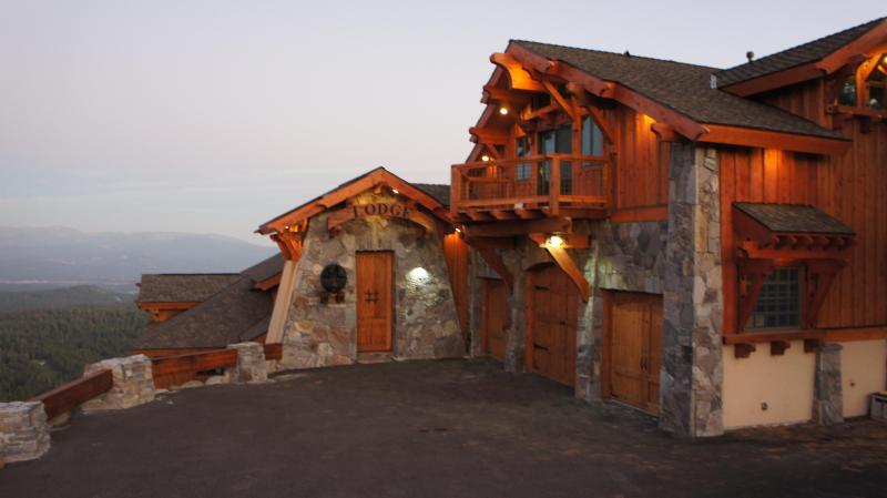 North Tahoe Lodge at Sunset