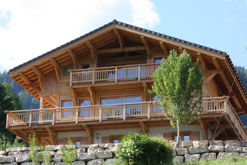 Rear view of Chalet APASSION