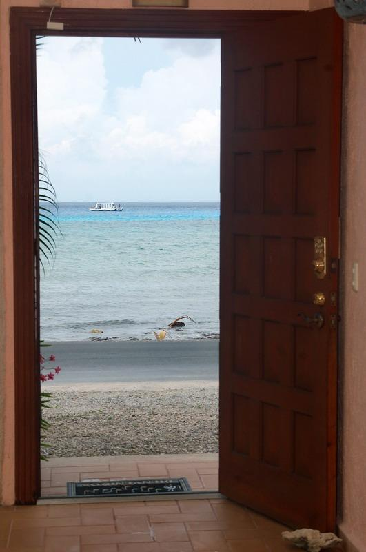 Your view as you open the front door of your Caribbean Vacation Home.  It's so close.....