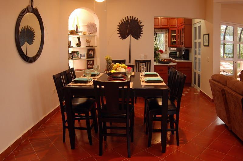 Comedor, mesa para 8