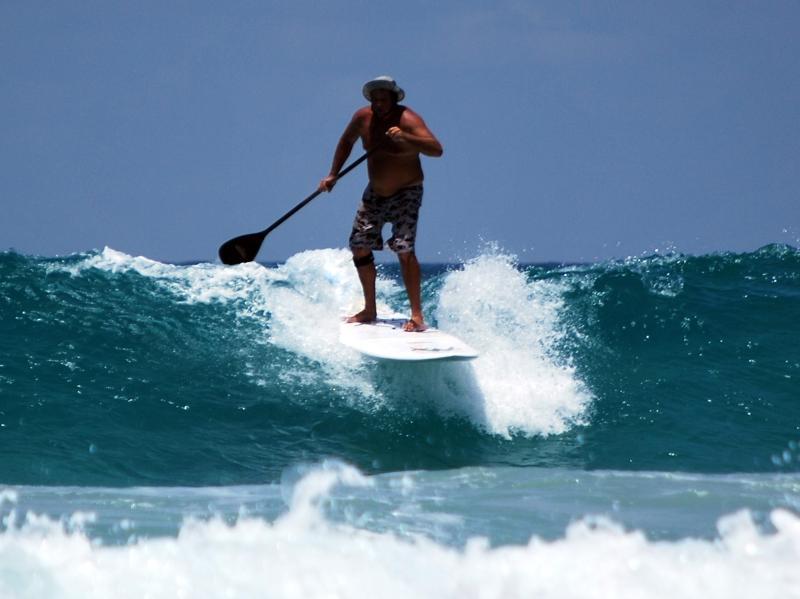Surfing on Kata Beach