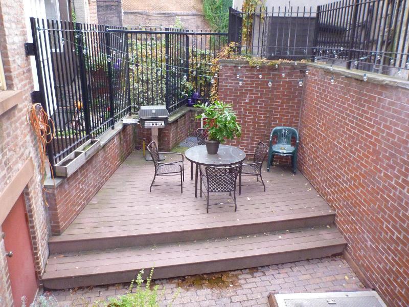 Patio/ Garden deck