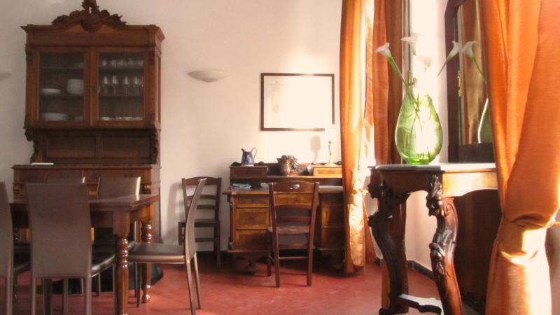 The living room, 1st floor