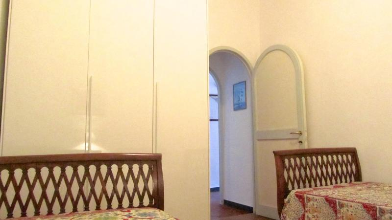 The large wardrobe in the double bedroom, at the 1st floor.