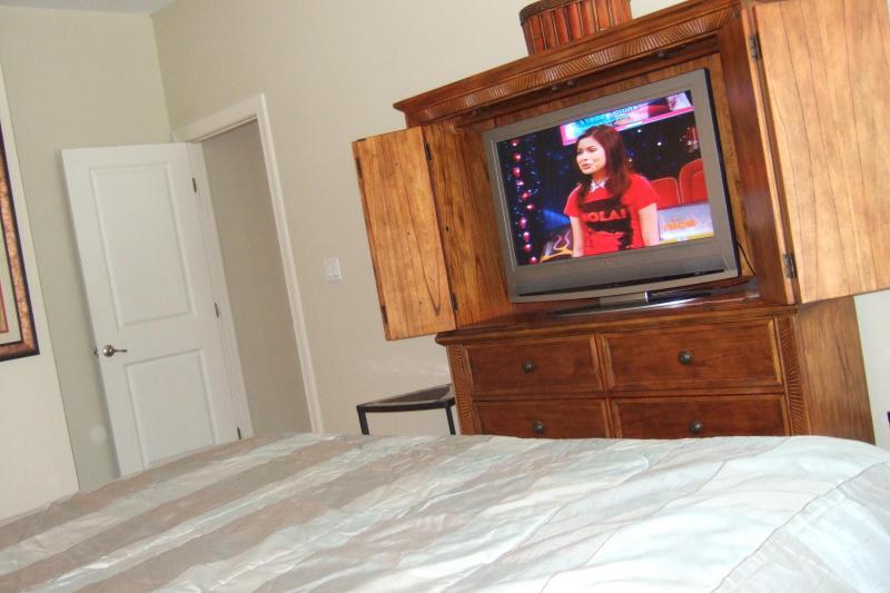 Haupt-Schlafzimmer tv