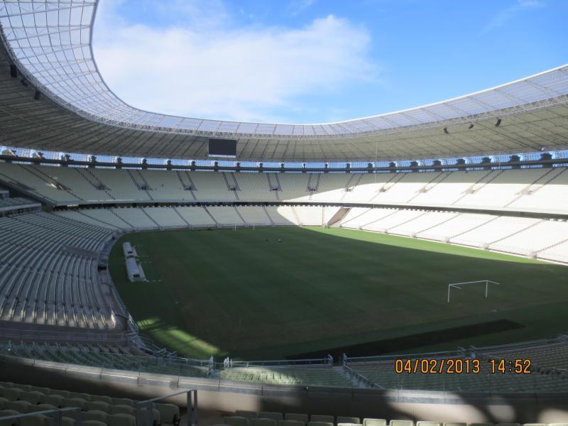 Coppa del mondo di Arena Castelão Fortaleza Brasile 2014