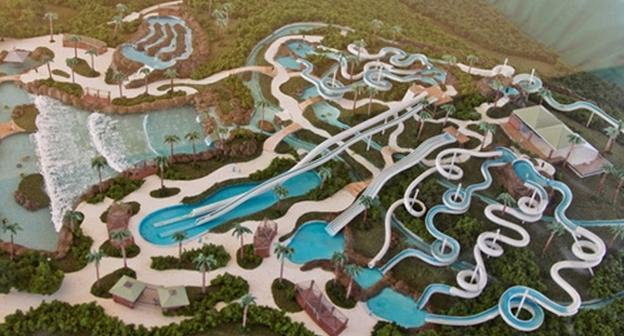 Water Park, Rio Water Planet (at 20 minutes by car)