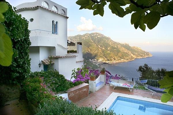 Ravello Retreat Amalfi villa with view, Ravello villa rental with pool, wedding, vacation rental in Ravello