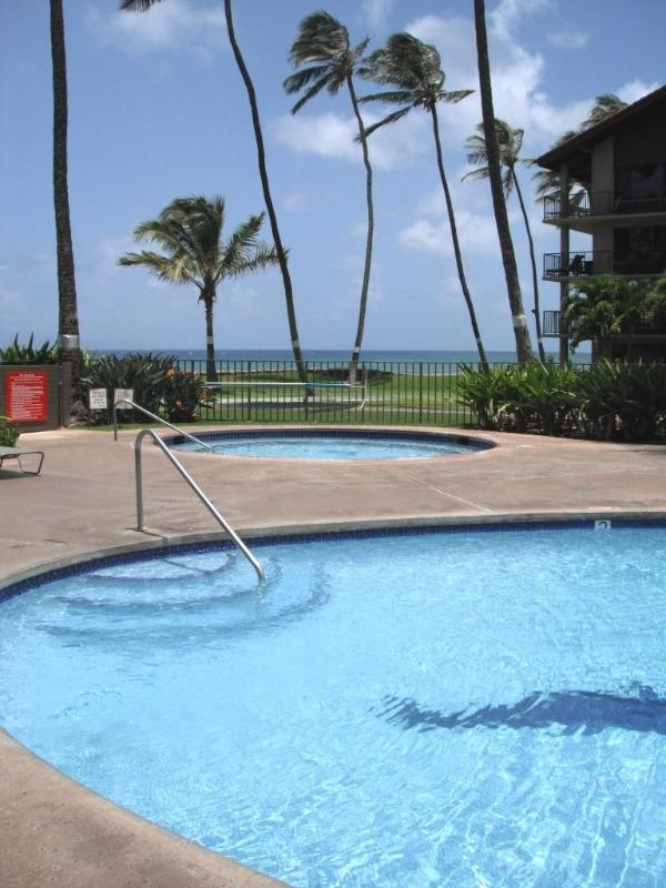 1 of 2 Pools and 2 Hot tubs on the Resort