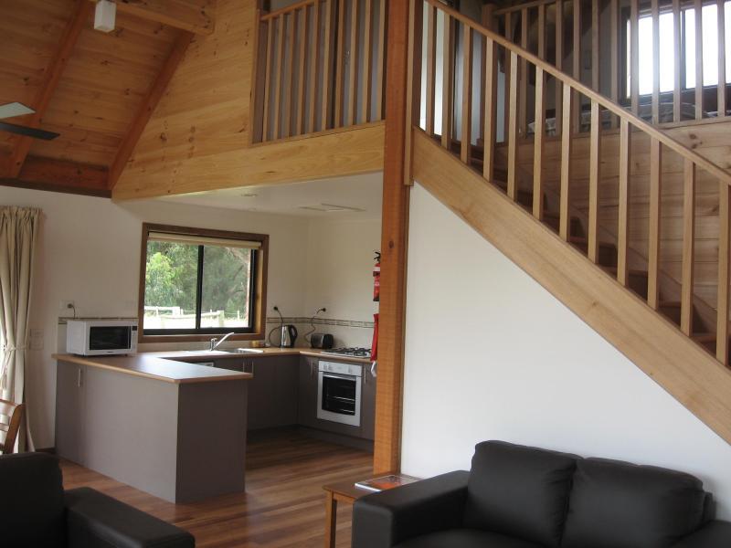 Loft cottage interior