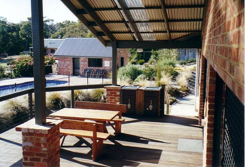 Group Lodge decking