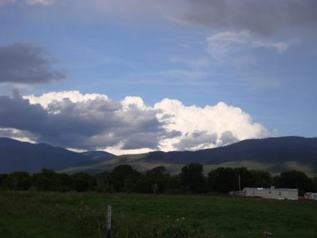 Field Nearby with Taos Mountain in the Distance