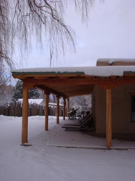 Portal in Snow