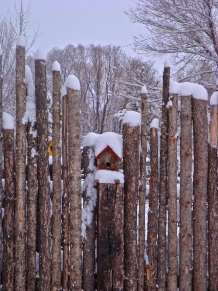 Latillas with snowcaps
