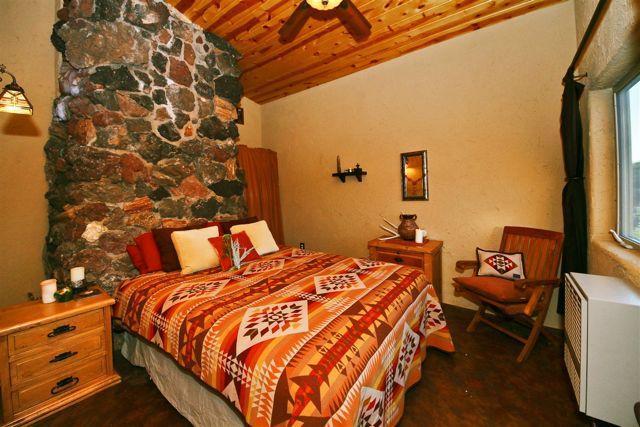 "Zion Estate: 1 sovrum med 1 Queen-säng. Detta sovrum har namnet ""Glohearth"""