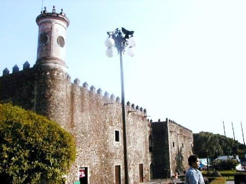 Hernan Cortes Palace located in Cuernavaca´s Downtown