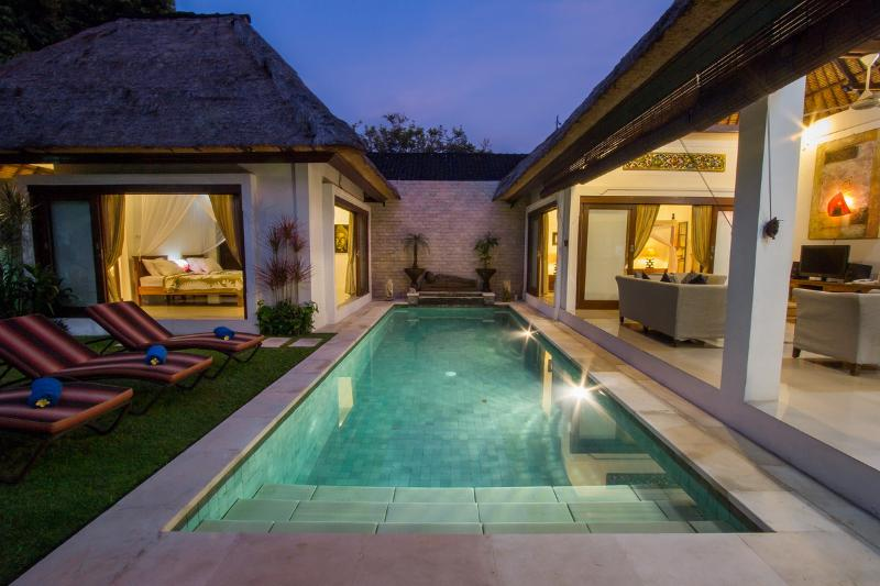 Villa Kamboja Senior 3 bdr Double Six area, holiday rental in Legian