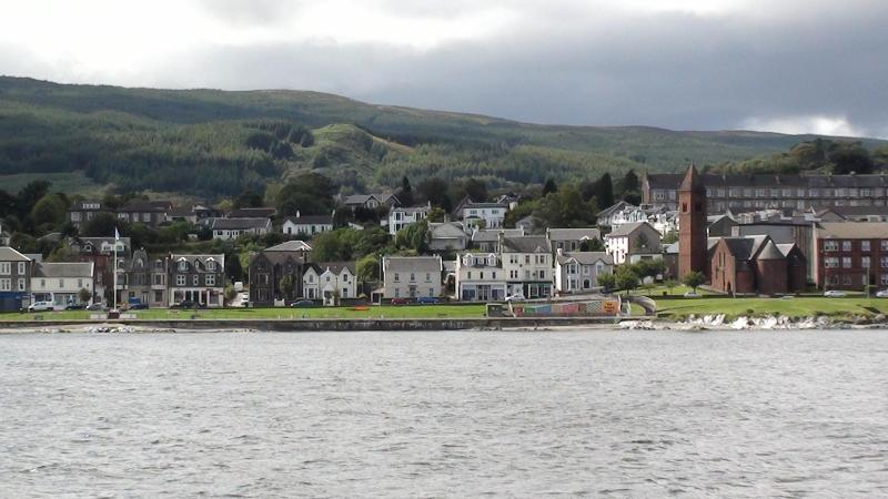 Sea View Apartment sleeps 2-4 in Dunoon Argyll, location de vacances à Dunoon