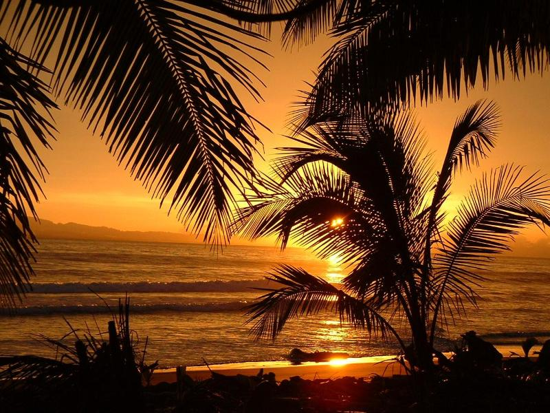 Zancudo sunset