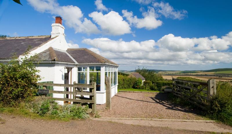 Rose Cottage in the peaceful hamlet of High Humbleton with wonderful views over the Glendale Valley