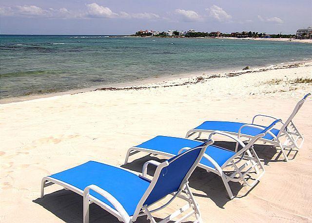 Tan Ik Beachfront Condos, Half Moon Bay, Akumal