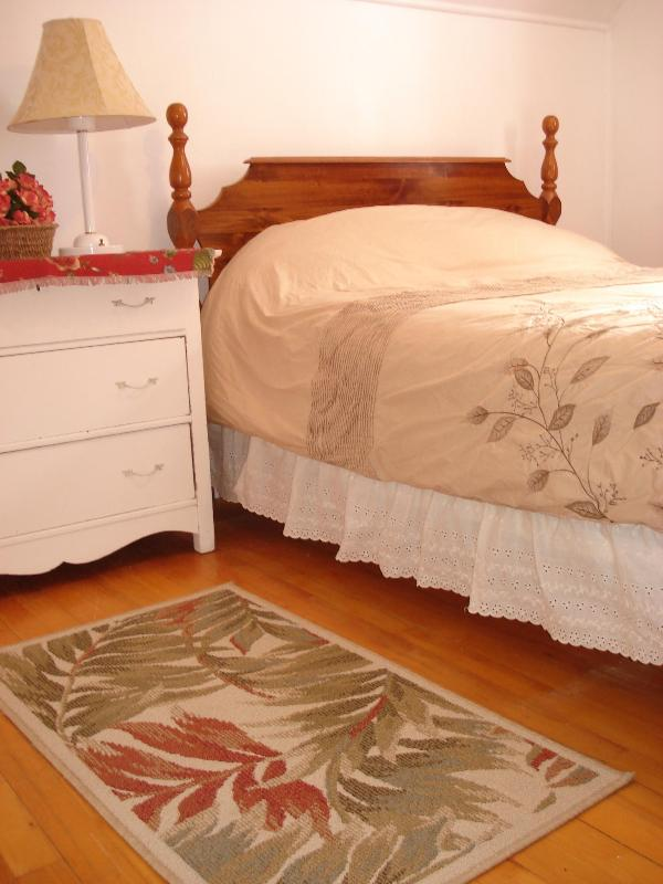 Beds have comfortable mattresses and duvets.