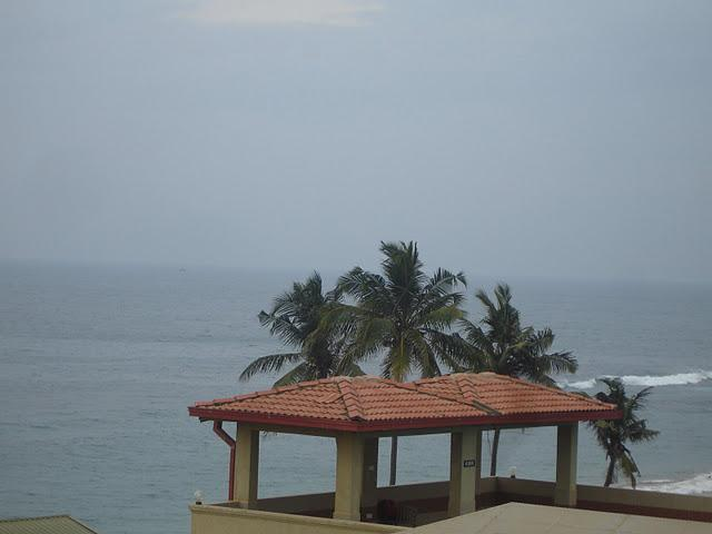 Beautiful seaview from 5th floor balcony