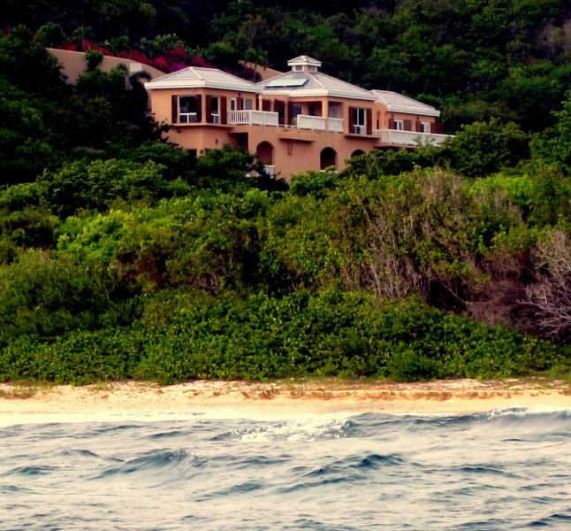 The Villa and secluded beach