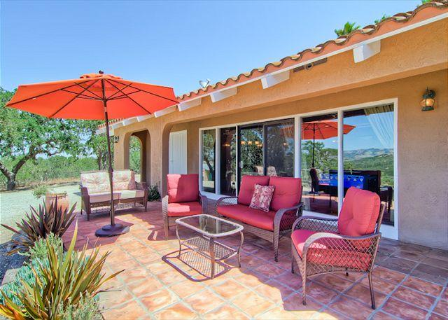 Gracious Hacienda in Paso Robles Wine Country, vacation rental in Templeton