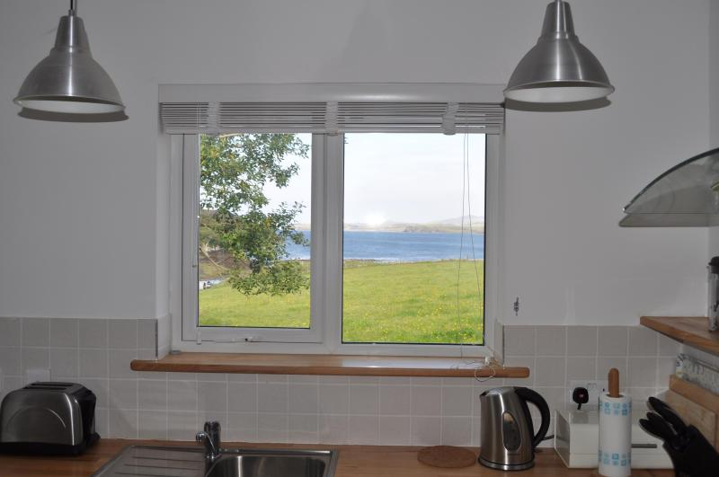 Looking out of Kitchen window