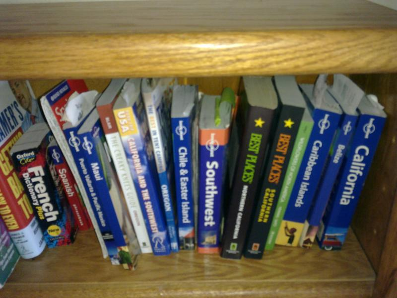 Travel guides for guests