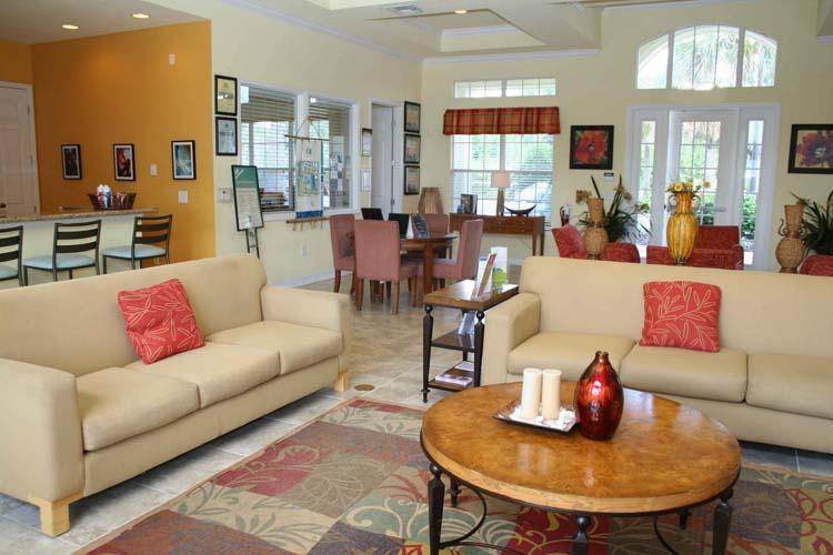 Club House Living Area