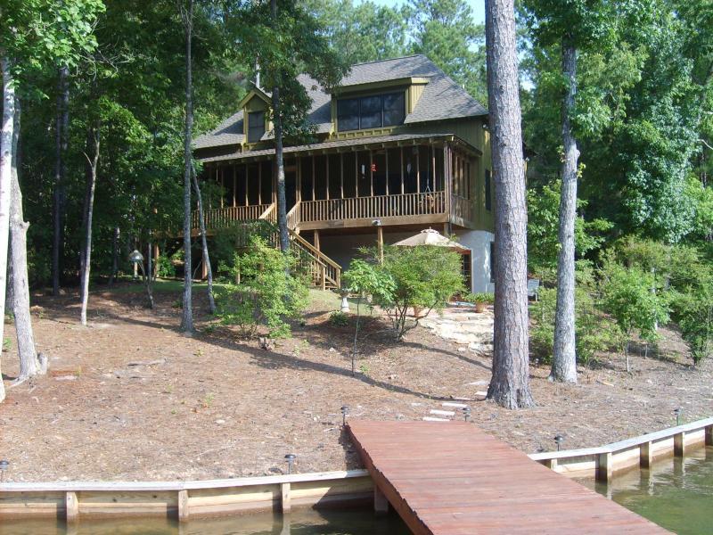 'The Greenhouse' on Lake Martin, AL