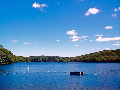Magical lake view