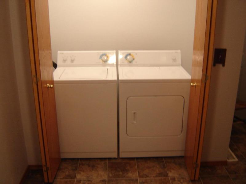 Washer & Dryer for your convenience