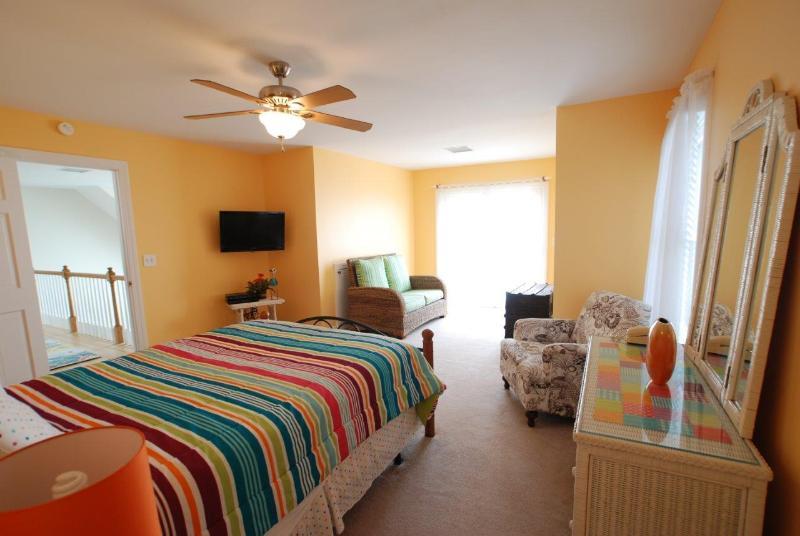 2º piso quarto de hóspedes do Ocean View w/cama