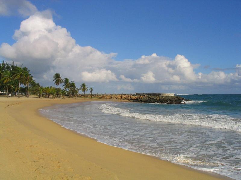 Condado Beach in front of Stella Maris