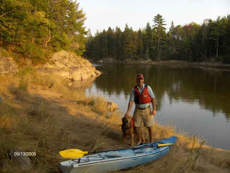 Kayak out to West Bay from the property.