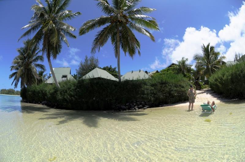 Beautiful Muri Lagoon just off your doorstep!
