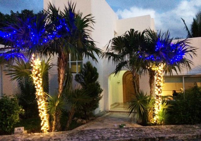 Holiday season at Casa Caracol