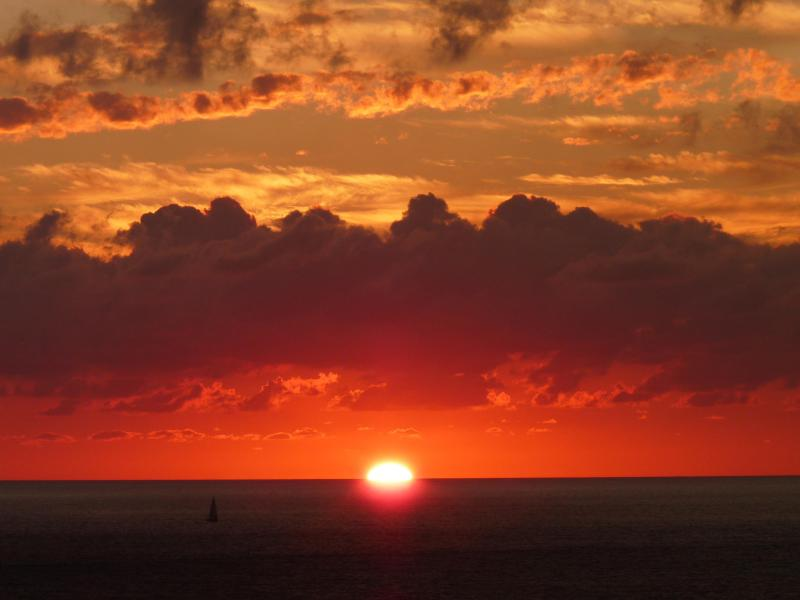 Stimulate your senses with Puerto Vallarta's fiery sunsets.