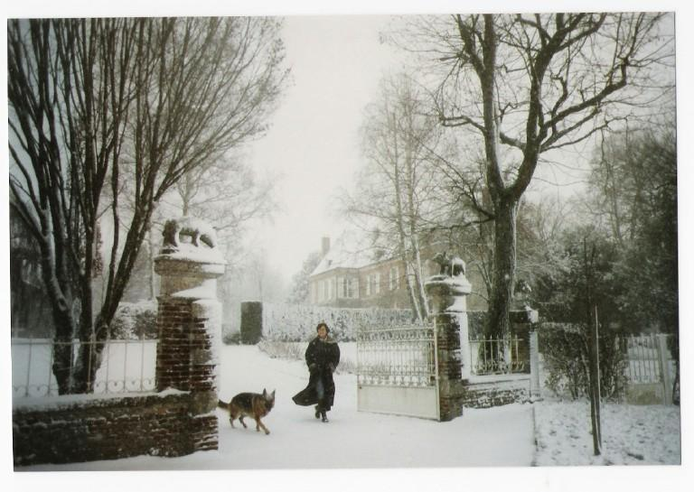 Chateau of Villers, wintertime