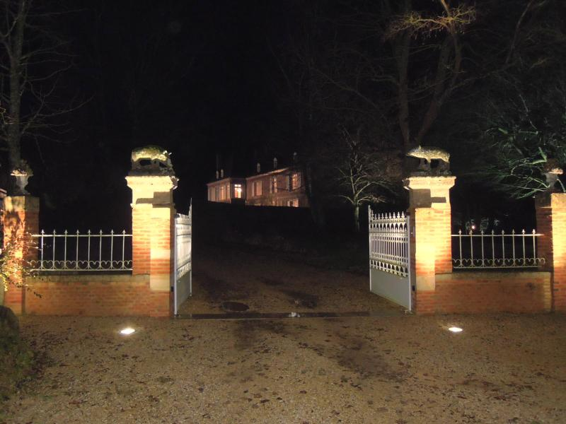 The chateau of Villers by night