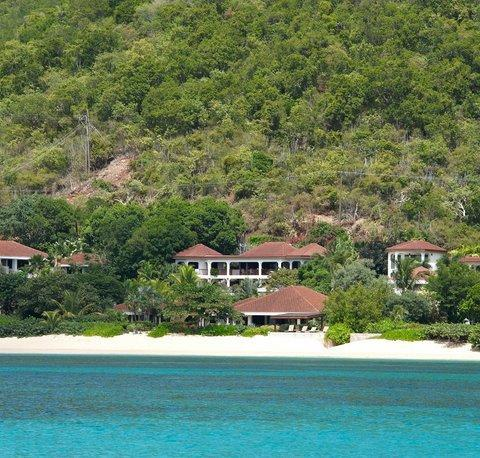 Lobolly Villa as viewed from Mahoe Bay